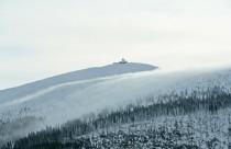 Polen, Karpaz, Blick auf die Schneekoppe