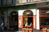 Spanien, Barcelona, Rambla del Laval