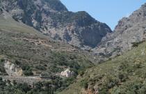 Griechenland, Kreta, Zaros (Záros), Rouwas Schlucht (Róuwas Gorg